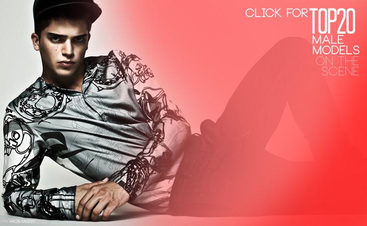 Top 20 Male Model Scene