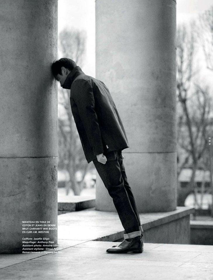 Werner Schreyer for L'Officiel Hommes Paris