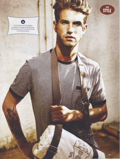 Andre Hamann For Esquire Greece