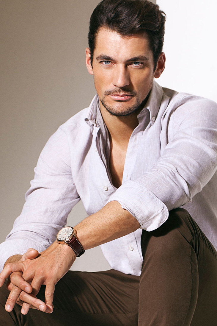 David Gandy for Massimo Dutti April 2013