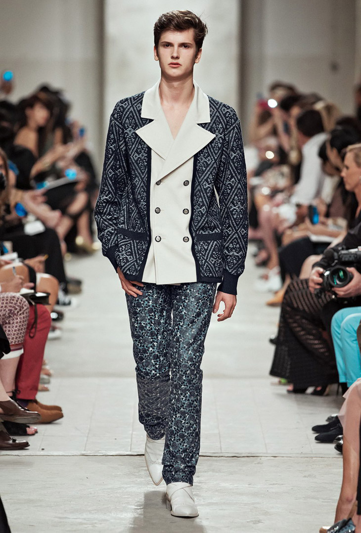 Menswear At Chanel Resort 2014