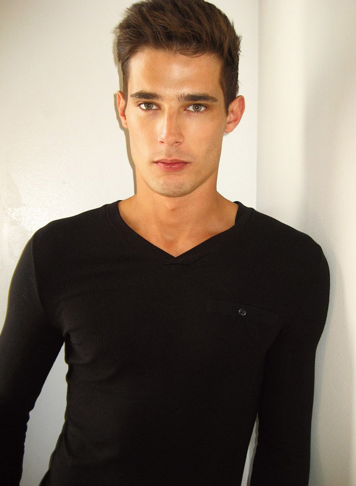 Featuring top model danny schwarz snapped at elite models in london