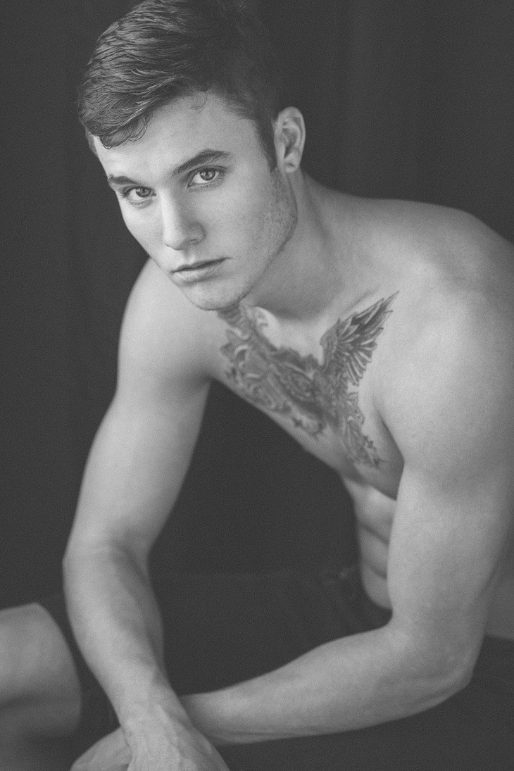 Picture About Male Model Shea Wright Shot by Jonny Shultz