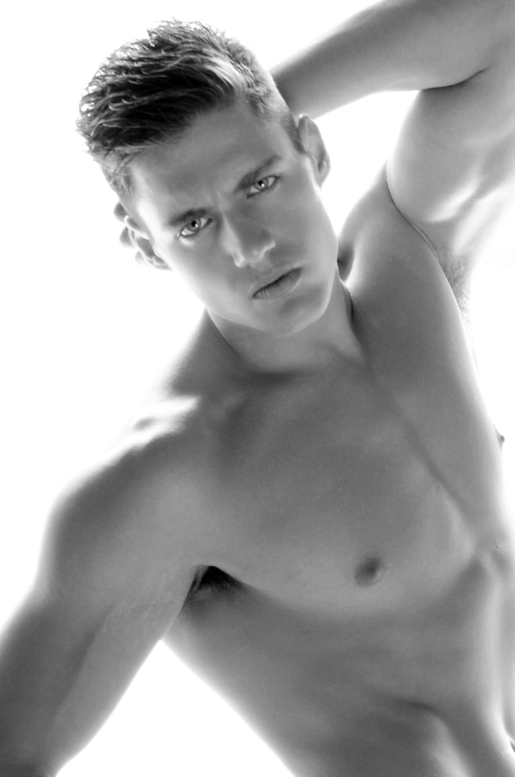 Picture About Male Model Karl Drexel Shot by Calvin Brockington
