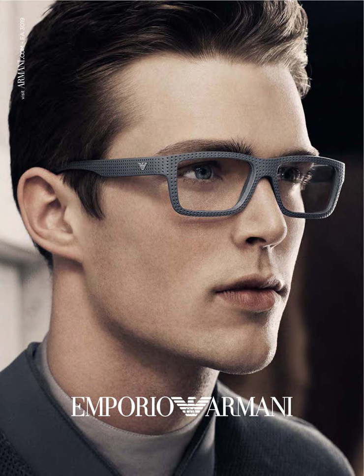 Nils Butler for Emporio Armani Eyewear