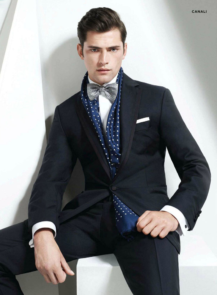 Sean O'Pry for Bloomingdale's