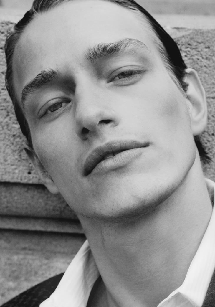 Robbie Lee by Maimouna Barry for Male Model Scene  Robbie Jones Model