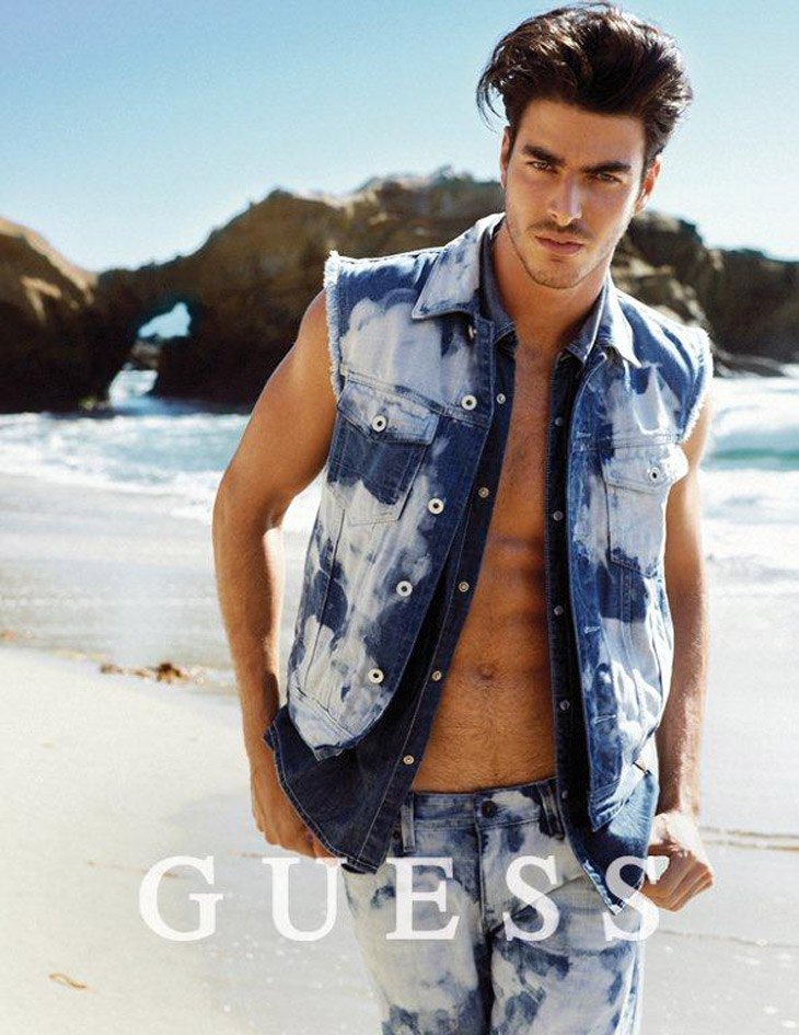 Gui Fedrizzi for GUESS Jeans Spring Summer 2014