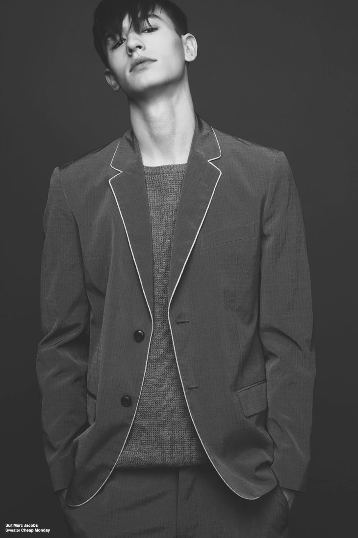 Male Model Scene