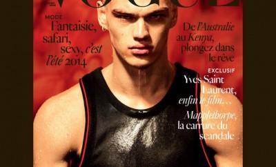 Filip Hrivnak Vogue Hommes International