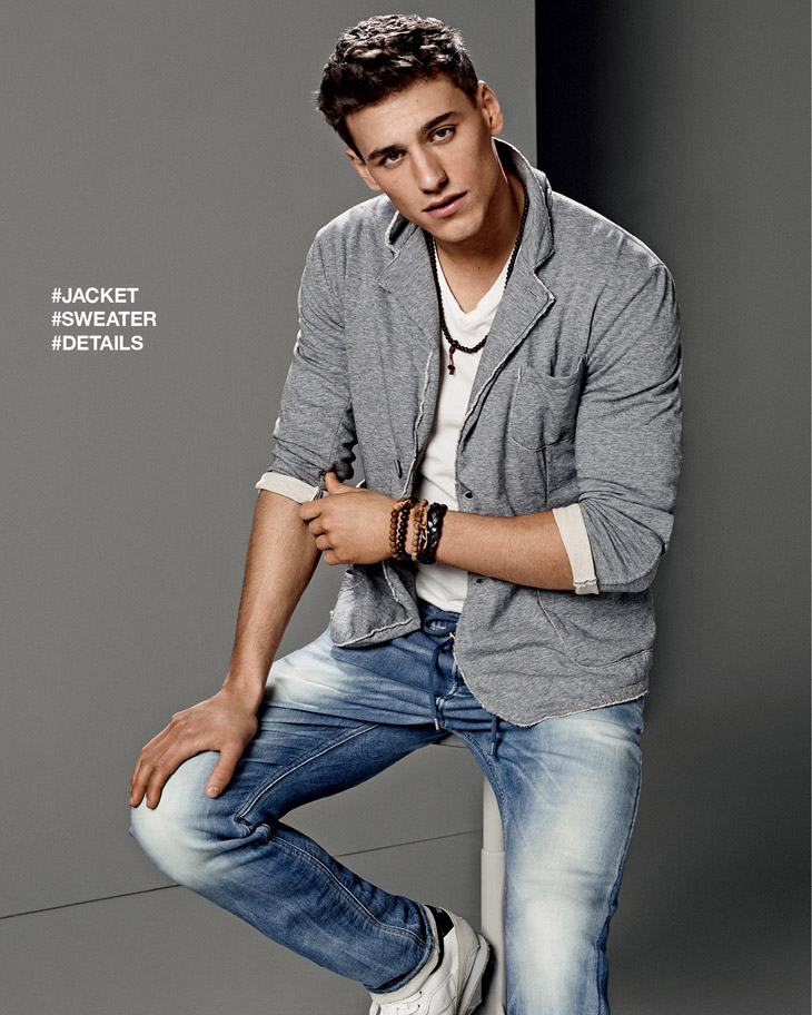 Mariano Ontanon for GAS Jeans Spring Summer 2014