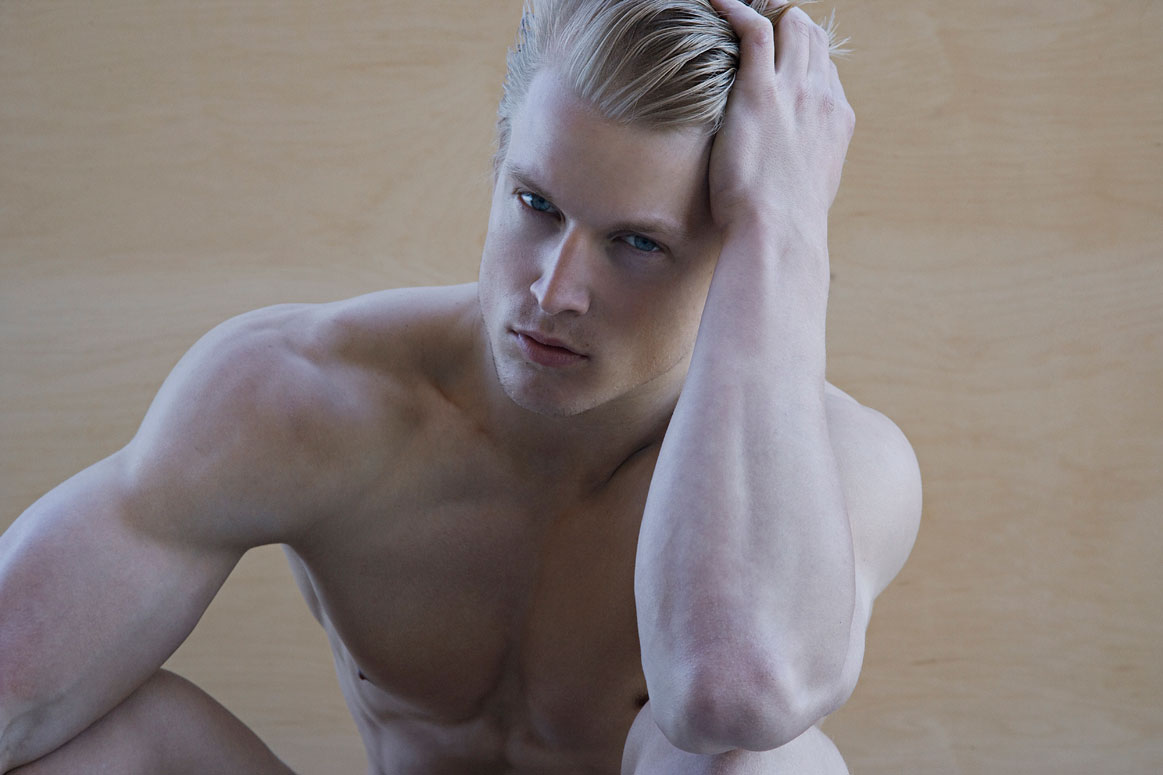male model butts nude