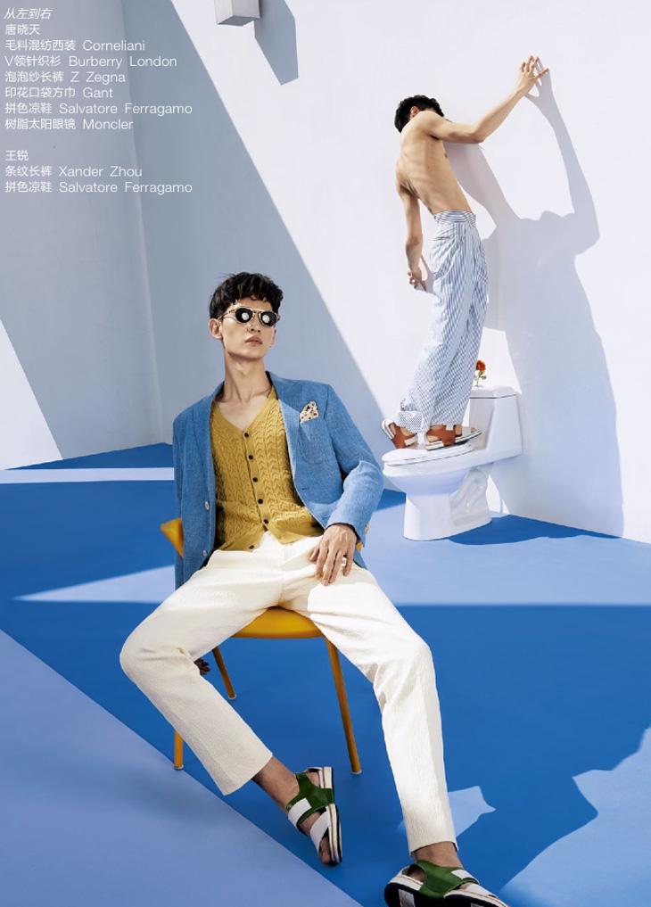 Tang Xiaotian GQ