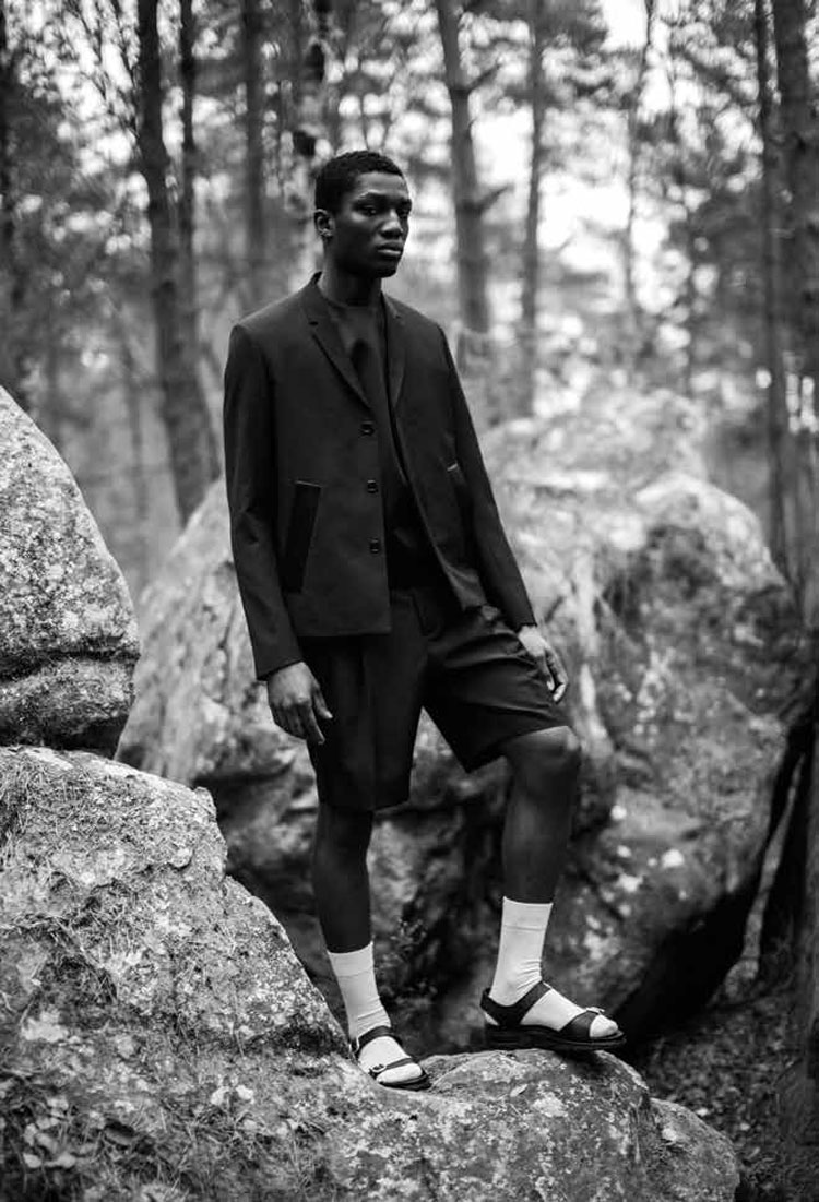 Josue Comoe L'Officiel Indonesia Yann Morrison