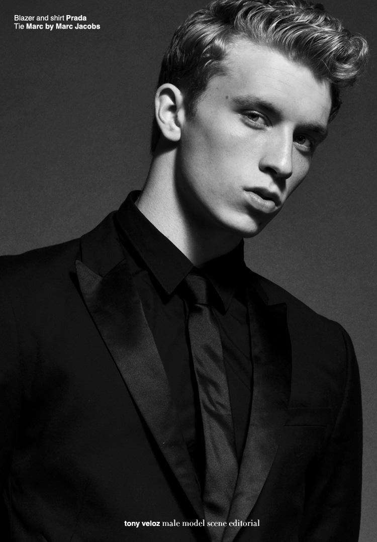 Landon by Tony Veloz for Male Model Scene