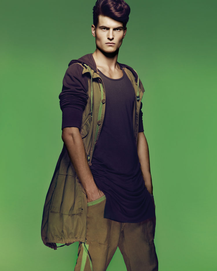 John todd at new york models by luzena adams for New york modeling agencies