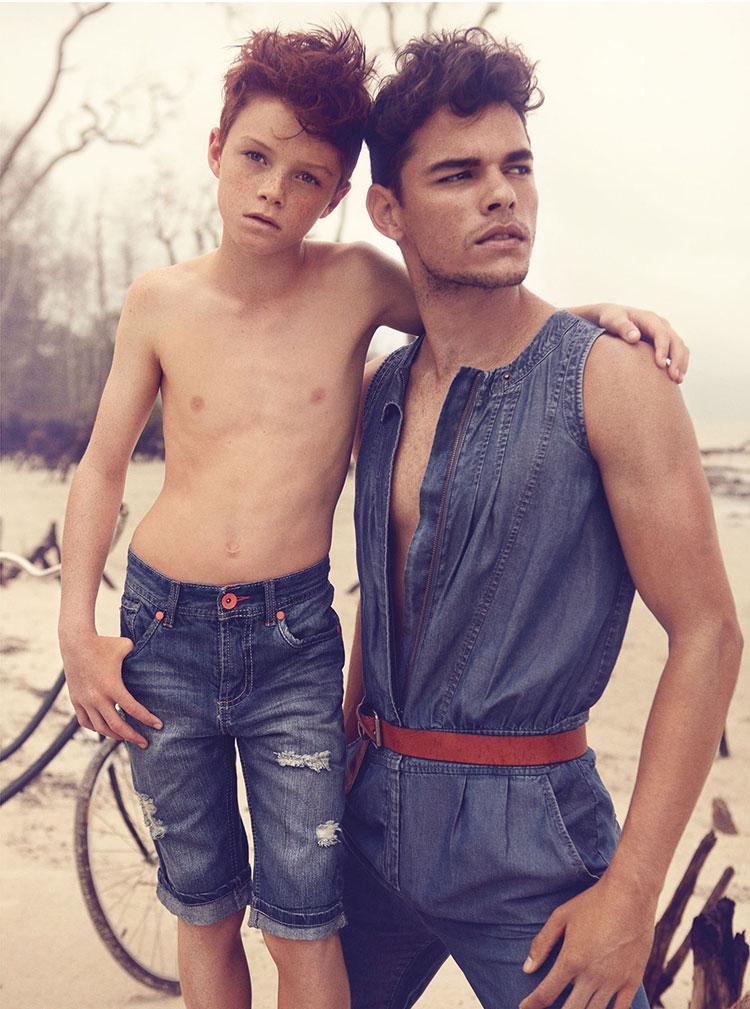 Homosexual young boys