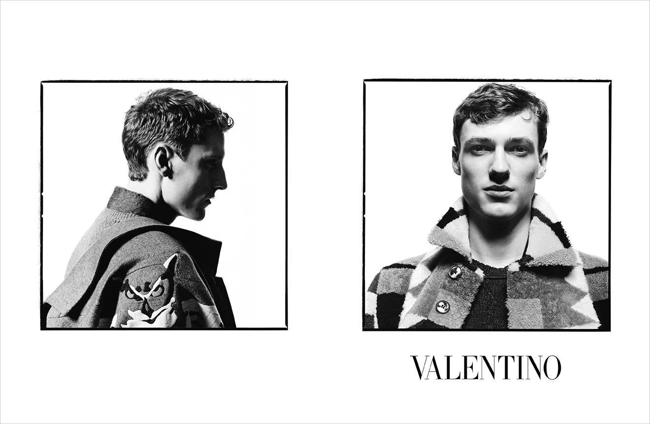 Valentino Menswear FW14.15 by David Bailey