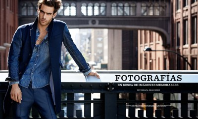 Jon Kortajarena and Carmen Dell'Orefice for El Libro Amarillo 01