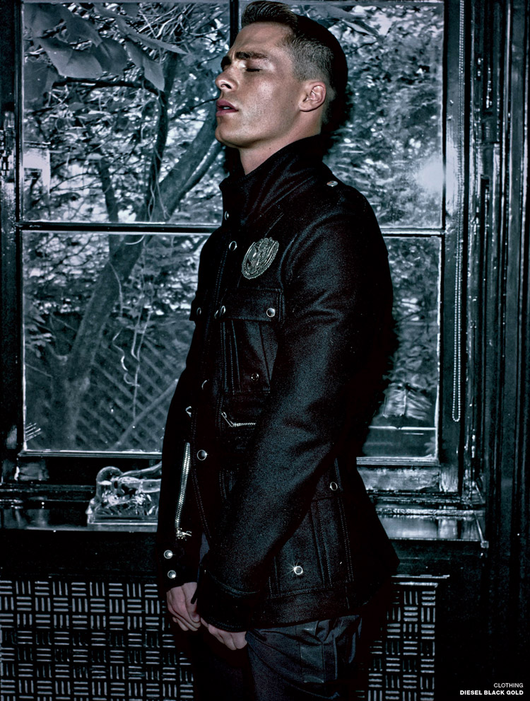 Colton Haynes by Steven Klein for VMAN