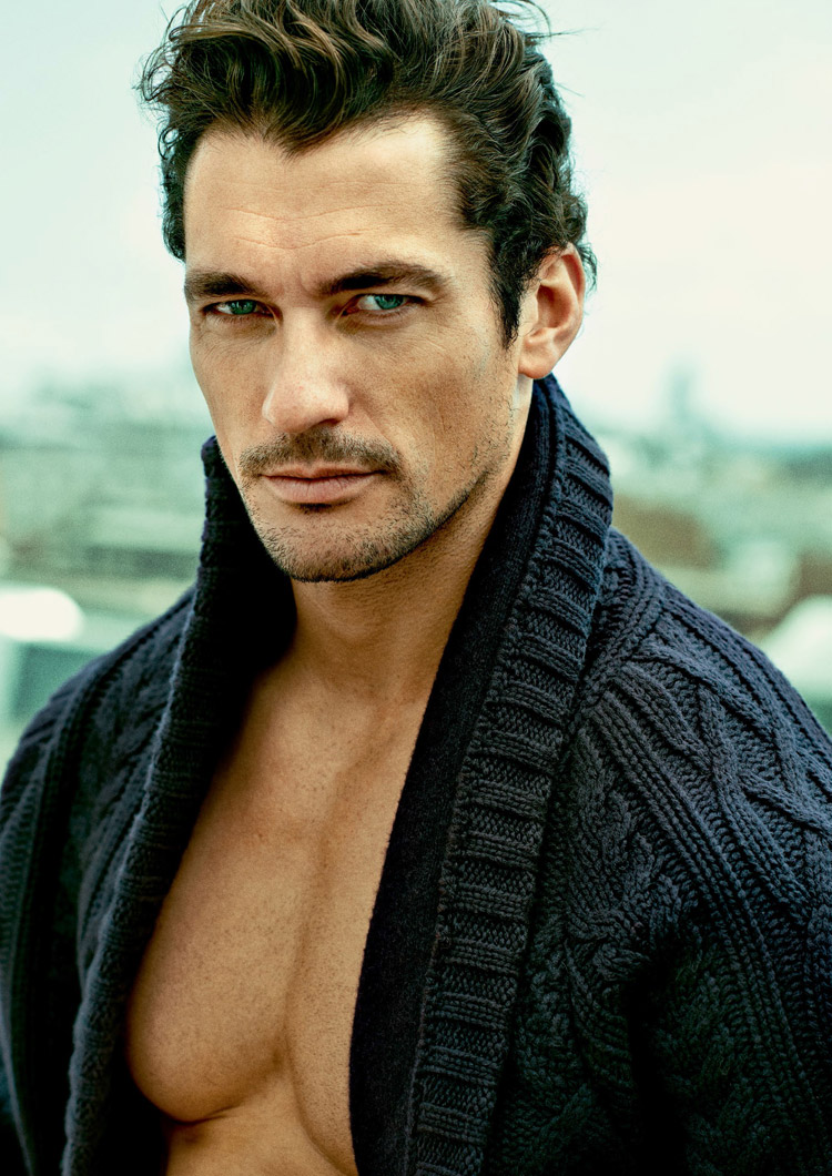 David Gandy for Esquire Singapore by Tomo Brejc