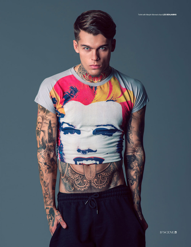 Stephen James Talks For D Scene Magazine With Jainnie Cho