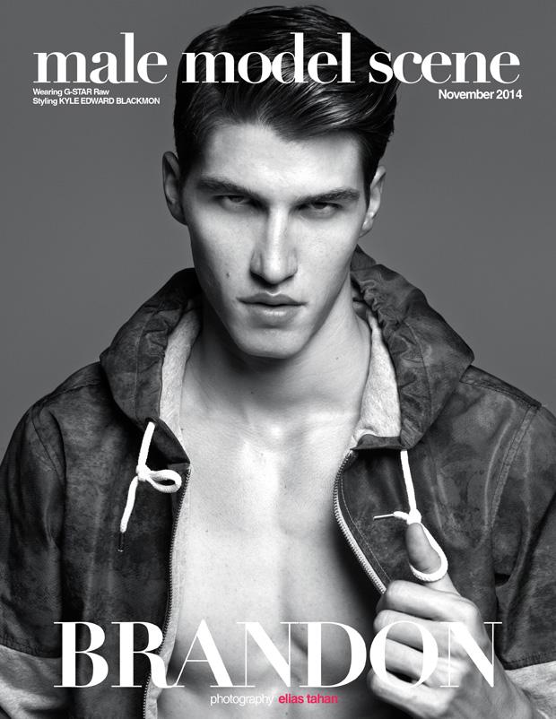 Brandon Rolfes By Elias Tahan For Male Model Scene