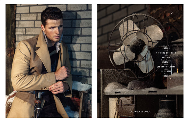 Edward Wilding For Caleo Magazine By Dennis Weber