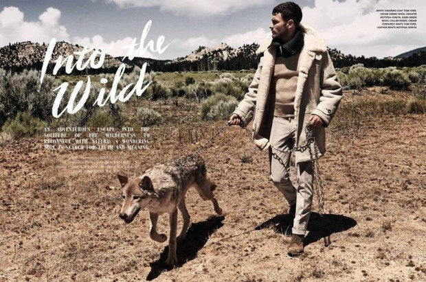 Noah Mills for L'Officiel Hommes Middle East 01