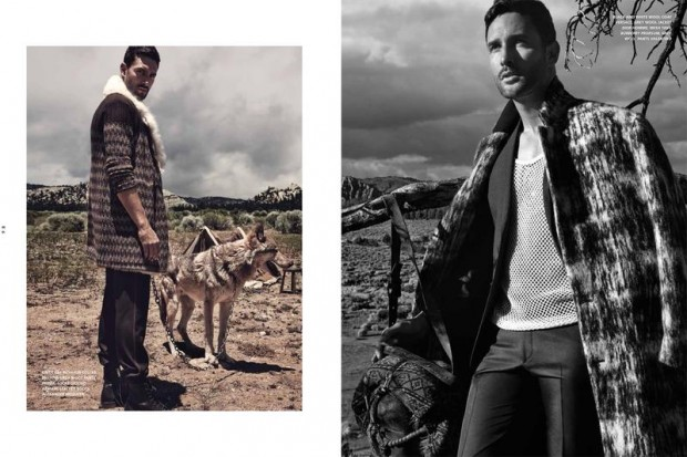 Noah Mills for L'Officiel Hommes Middle East 03