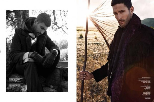 Noah Mills for L'Officiel Hommes Middle East 08