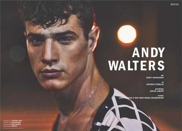 Andy Walters for Reflex Homme by Geoff Barrenger | 620 x 445 jpeg 61kB