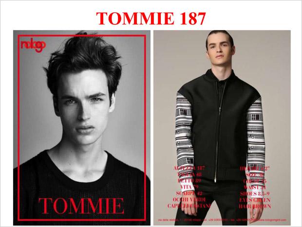 NoLoGo Models Milan Fall Winter 2015.16 Show Package