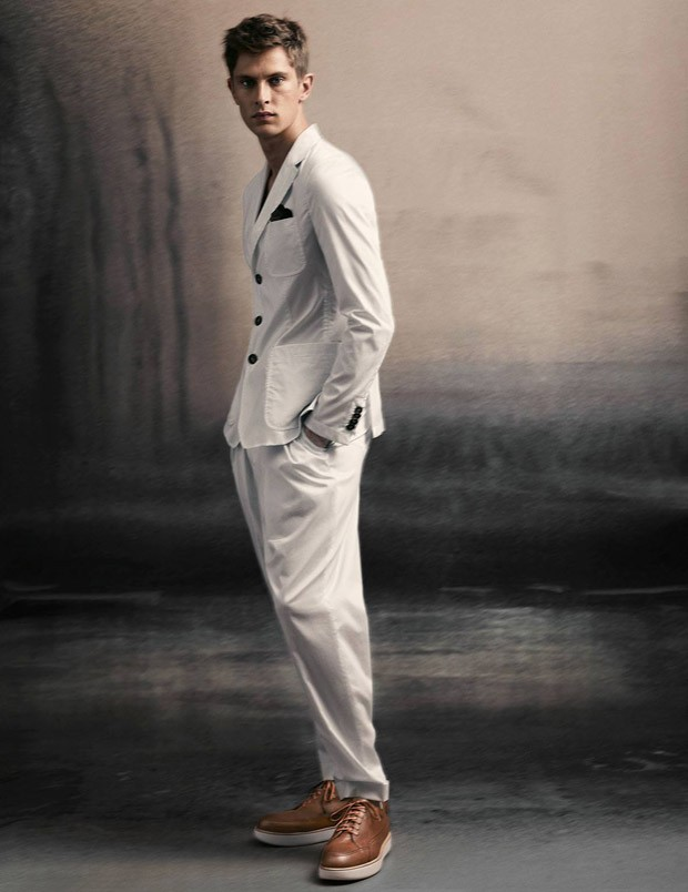 Mathias Lauridsen For Giorgio Armani Spring Summer 2015
