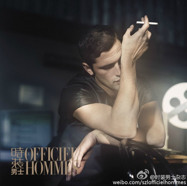 Sean O'Pry for LOfficiel Hommes China  03