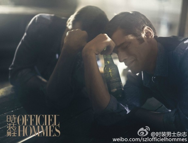 Sean O'Pry for LOfficiel Hommes China  06