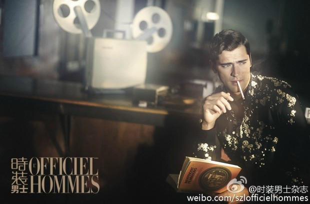 Sean O'Pry for LOfficiel Hommes China  09