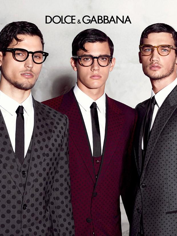 Misa Travis And Xavier For Dolce Amp Gabbana Eyewear Ss15