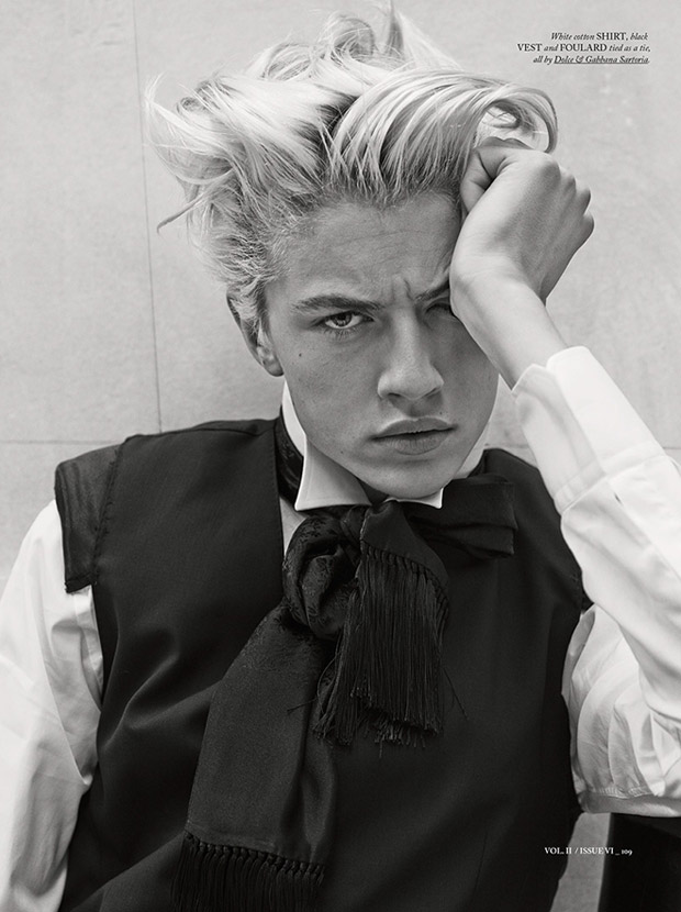 Lucky Blue Smith By Giampaolo Sgura For Hercules