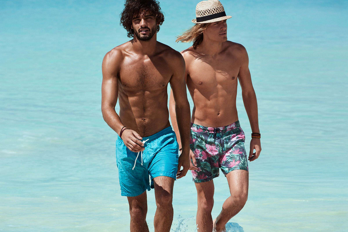 Marlon teixeira ton heukels for h m splash of color - Les plus beaux mecs du monde ...