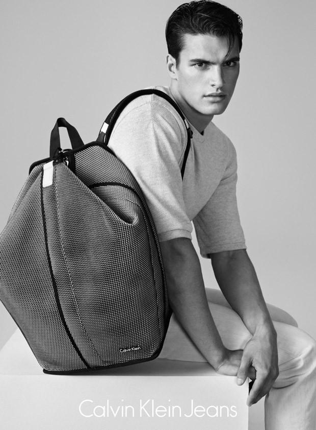 Matthew Terry for Calvin Klein Jeans Summer 2015
