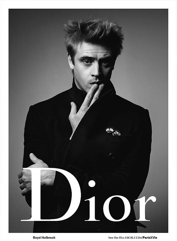 Boyd Holbrook Becomes The Face of DIOR HOMME