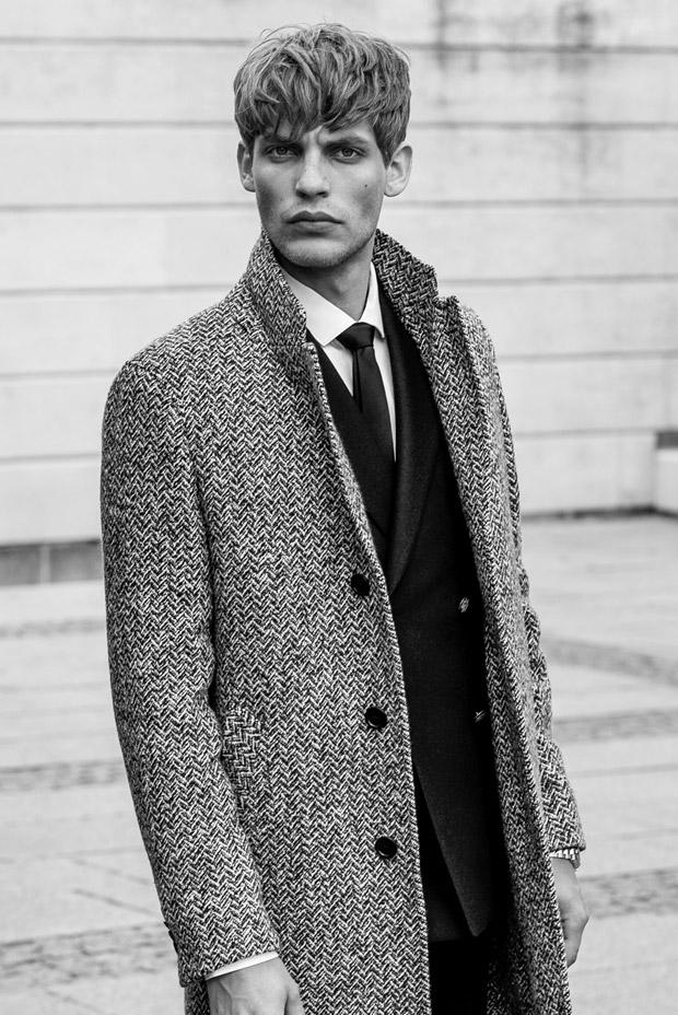 Baptiste Radufe for GQ Turkey by Umit Savaci