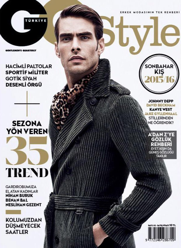 Jon Kortajarena Covers GQ Style Turkey Fall Winter 2015