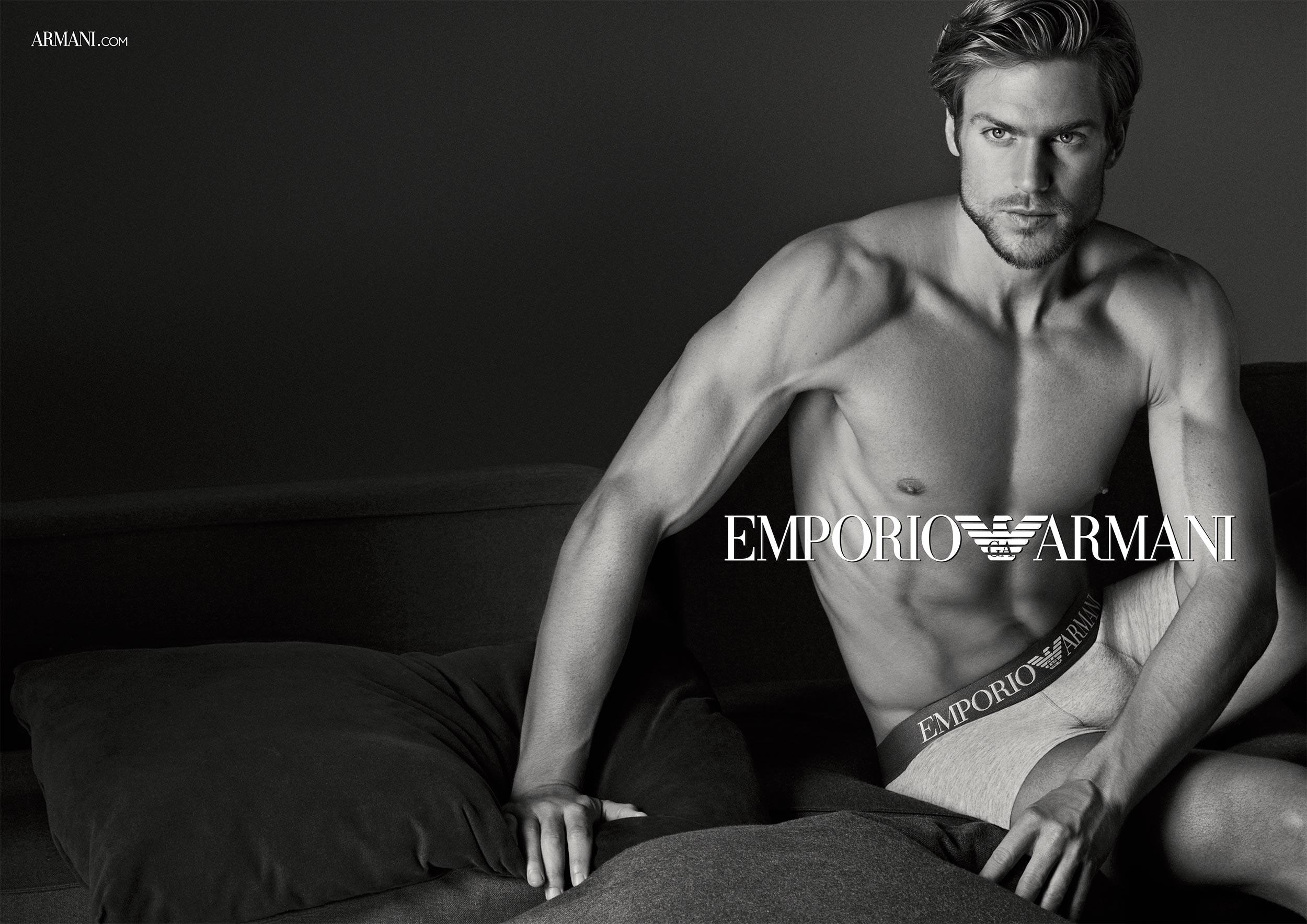 Jason Morgan As The Face Of Emporio Armani Underwear Fw15