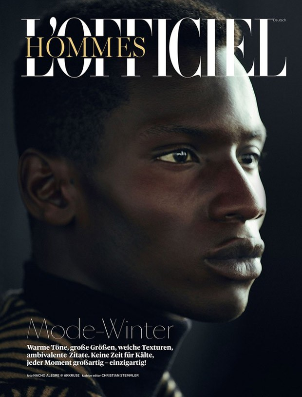 Adonis Bosso For L Officiel Hommes Germany By Nacho Alegre