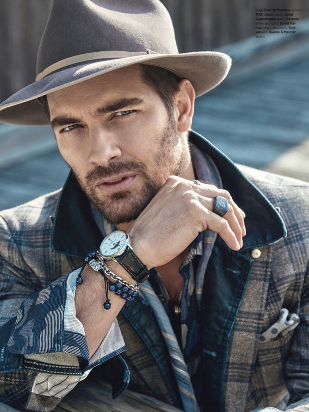 Top Models Henrik Fallenius Amp Cory Bond For Mr Magazine
