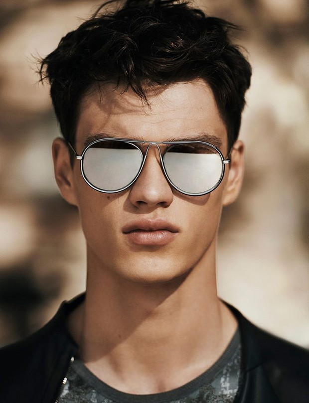 Filip Hrivnak for Emporio Armani Spring Summer 2016