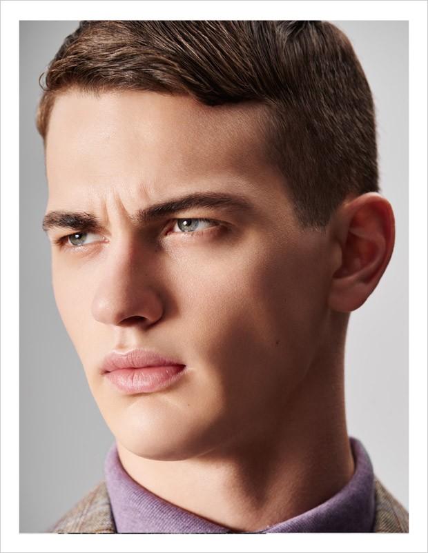 Male model makeup tips