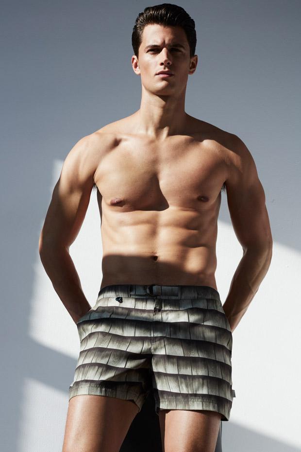 Supermodel Garrett Neff for VMAN by Anthony Maule